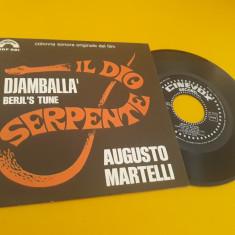 VINIL AUGUSTO MARTELLI- DJAMBALLA/BERJL'S TUNE DISC CINEVOX 1971 STARE EX