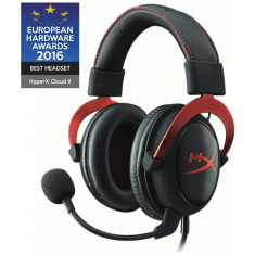 Casti gaming HyperX Cloud II - red PC / PS4 / Xbox One