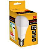 Bec LED Kodak 10W, alb rece, E27, 806 lumeni, 6000 k