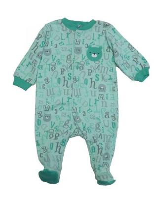 Salopeta / Pijama bebe cu ursuleti Z52 foto