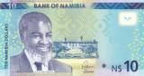 Bancnota Namibia 10 Dolari 2015 - P16 UNC