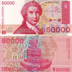 CROATIA 50.000 dinara 1993 UNC!!!