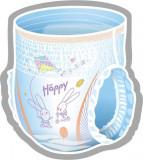 Cumpara ieftin Scutece-chilotei Happy Pants Maxi 4, 8-14 kg, 24 buc