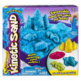 Set nisip Kinetic Sand Blue 454g