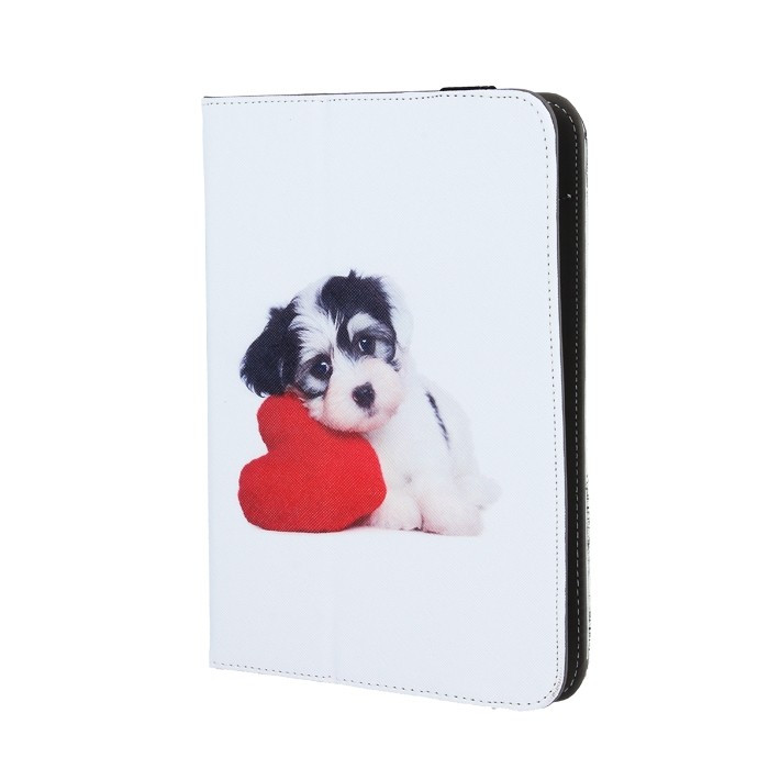 "Husa Universala Tableta 7-8"" (Puppy Heart)"