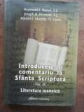 Introducere si comentariu la Sfanta Scriptura vol 9- Raymond E. Brown, Joseph A. Fitzmyer