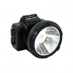 Lanterna frontala cu acumulator Gdlite, ajustabila