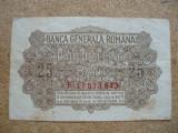 ROMANIA - 25 BANI 1917 BGR , B1.6
