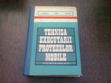 TEHNICA EXECUTARII PROTEZELOR MOBILE - MIHAI ISPIRESCU