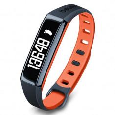 Bratara monitorizare activitate fizica Beurer AS80C, stocare 30 zile, portocaliu