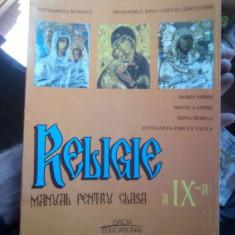 Religie – manual de clasa a IX-a – Dorin Opris
