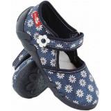 Papuci pentru exterior si interior, RenBut, Albastru, 19, 21 - 27