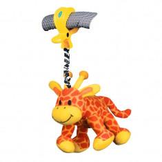 Jucarie pentru carucior Prietenul Girafa Playgro, 0 luni+