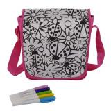 Cumpara ieftin Geanta de umar Color Me Simba + 5 markere permanente, 27x23x8 cm, Roz, pentru fete