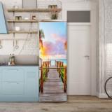 Sticker Tapet Autoadeziv pentru frigider, 210 x 90 cm, KM-FRIDGE-69