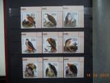 2002  Guinea  -  Fauna**  Pasari de prada, serie completa.
