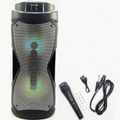 Boxa Portabila 100W PMPO KTS-1086 cu Microfon si Telecomanda