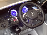 Masinuta electrica cu telecomanda Mercedes Benz GL63 Silver