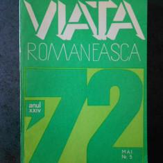 REVISTA VIATA ROMANEASCA (numarul 5, anul 1972)