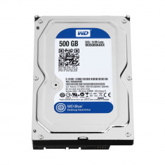 Hard-Disk Drive HDD Western Digital Blue 500GB, SATA III 600 MB/s [ WD5000AAKX ]