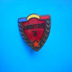 HOPCT ROMANIA INSIGNE VECHE SPORTIVA  ARBITRU III EMAIL   [ 1 ]