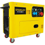 Generator curent electric profesional D-SG6000-1, 8.4 CP, 6300 W, 400 V, 418 CC, tehnologie AVR, 14.5 l, diesel