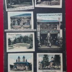 Romania Neamt Salutari din Manastirea Varatic, Circulata, Printata, Piatra Neamt