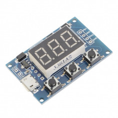 Generator de Semnal PWM Reglabil Dual cu Afișaj și Interfaţă Serială