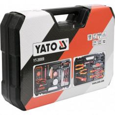 Trusa Scule Electricieni Yato 68 Piese YT39009