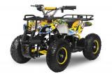 Mini ATV electric pentru copii NITRO Torino Quad 1000W 48V Galben