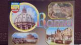 ITALIA - ROMA -  4 VEDERI DIN CAPITALA SI EMBLEMA ORASULUI - NECIRCULATA., Fotografie