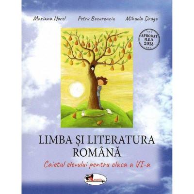 Limba si literatura romana caietul elevului pentru clasa a VI-a, autor Petru Bucurenciu foto