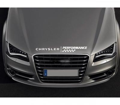 Sticker capota Chrysler (v1) foto