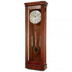 Ceas cu pendul Merion cu melodie Westminster 6704-1 Nuc 89x29cm
