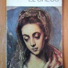 EL GRECO de VIRGIL MOCANU 1980