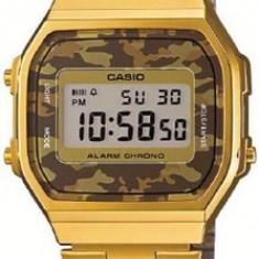 Ceas CASIO VINTAGE GENT GOLD CAMO A168WEGC-5