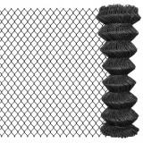 Gard plasă de sârmă, gri, 15 x 1,25 m, oțel, vidaXL