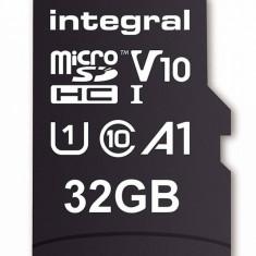 Card de memorie Integral 100V10 32GB Micro SDHC Clasa 10 UHS-I + Adaptor SD