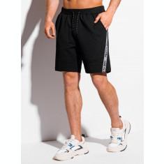 Pantaloni scurti barbati W316 - negru