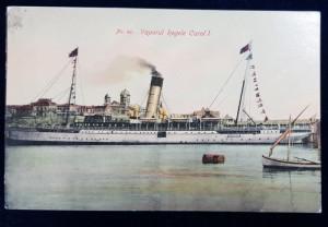 Vaporul Regele Carol I - CP ilustrata