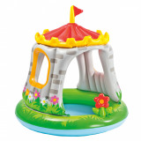 Piscina gonflabila Intex - Baby Royal Castle, 122 x 122 cm, Oem