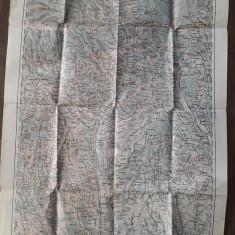 Harta militara austro-ungara Ramnicu Valcea primul razboi mondial 1915