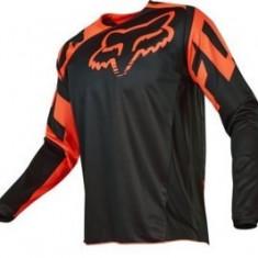 Tricou copii motocross Fox 180 Race culoare negru/portocaliu marime M Cod Produs: MX_NEW 17265009MAU