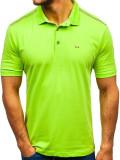Tricou polo bărbați verde Bolf 6797