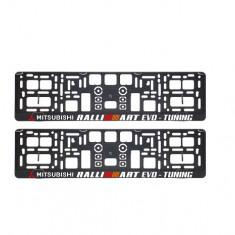 Suporturi numar inmatriculare Mitsubishi Ralli Art