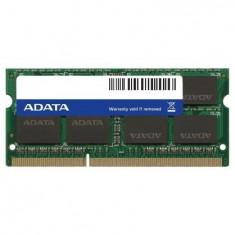 Memorie notebook ADATA Premier, 4GB, DDR3, 1600MHz, CL11, 1.35v, bulk