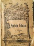 Portrete Literare, I. Chendi, Alacalay - Hrisoverghi, A. C. Cuza, A. Stavri etc