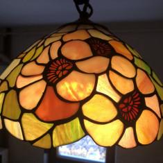 Candelabru,lampa pendul de tavan,lustra stil Tiffany