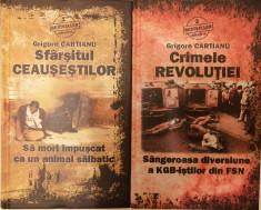 Grigore Cartianu - Sfarsitul Ceausestilor + Crimele Revolutiei, 2010 foto