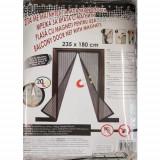 Cumpara ieftin Plasa antiinsecte cu magneti pentru usa maxim 235x180 cm